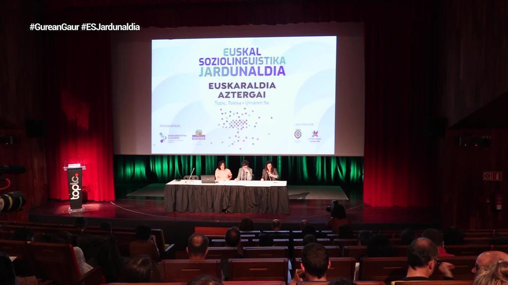 XI. Euskal Soziolinguistika Jardunaldia ospatu da Tolosan