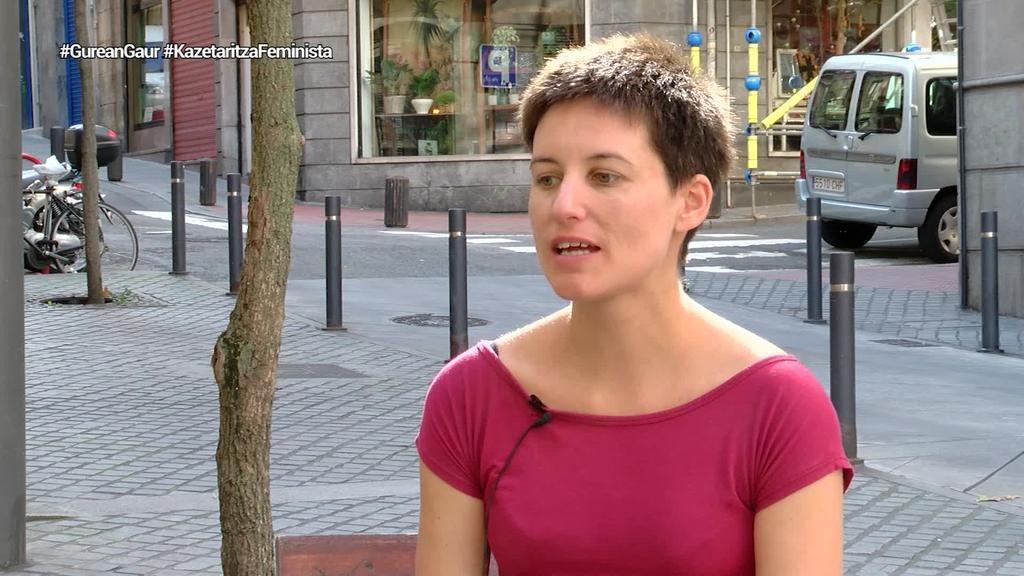 """June Fernandez: """"Euskarazko hedabideetan onarpen gehiago dago feminismotik komunikatzeko"""""""