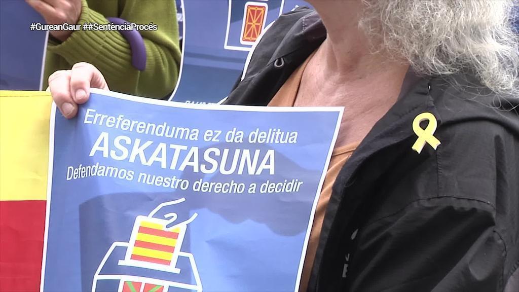 Euskal Herriko gehiengo sindikalak Altsasu eta Kataluniari buruzko epaiak salatu ditu
