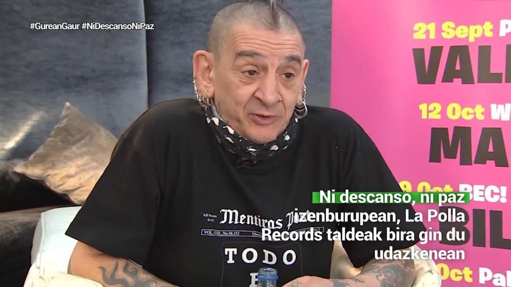 16 urte eta gero La Polla Records Euskal Herrian bueltan