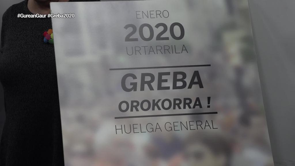 Eskubide Sozialen Kartak 2020ko Greba orokorra aurkeztu du Nafarroan