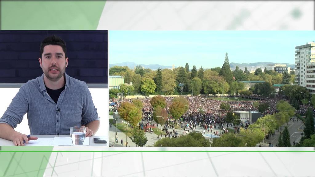 Manifestazio erraldoiak Bartzelona eta Iruñean, Katalunia eta Altsasuko