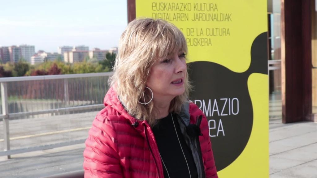 Euskararen osasun politikoaren azterketa Ana Ollo kontseilariarekin