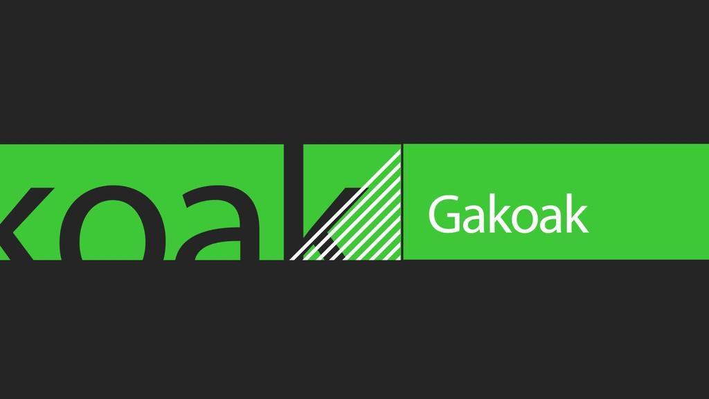 GAKOAK | 2019-11-12