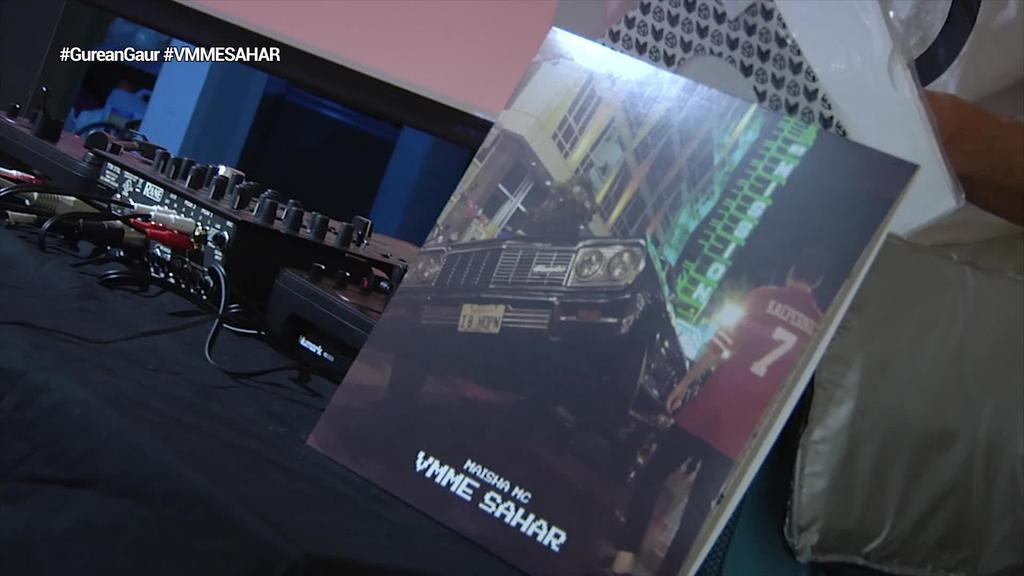 'VMME SAHAR', lehenengo bakarko diskoa kaleratu du Maisha MC-k