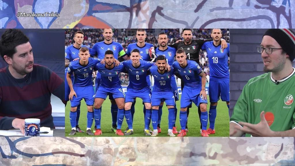 Italia, sailkapen faseko partida guztiak irabazi ostean, txapelketa handi batean egongo da berriz