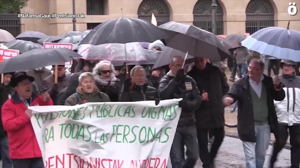 Pentsionistek indar erakustaldia eman ostean, euskararen aurkako erasoak itzuli dira