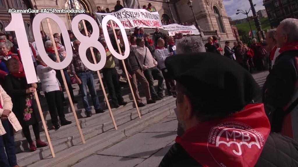 Emakume pentsiodunak Azaroaren 25eko Bilboko manifestazioan egongo dira
