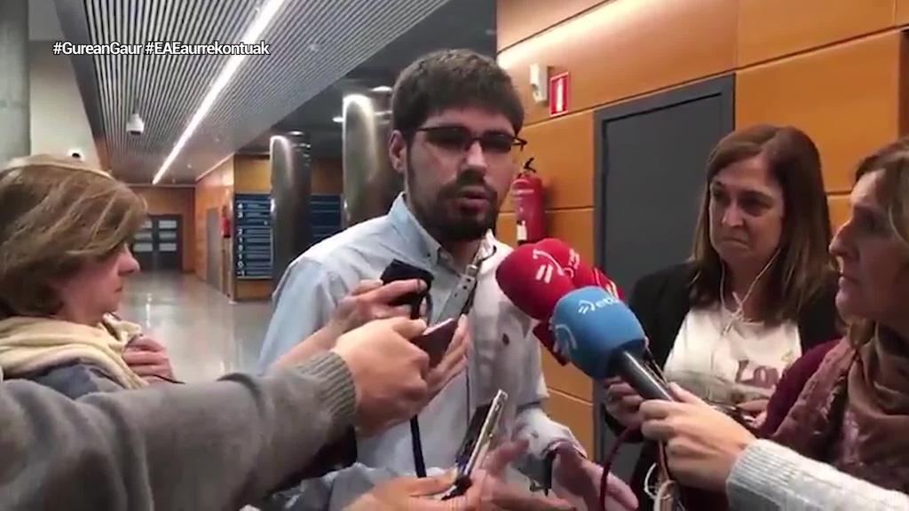 200 miloi euroko aurrekontu aurreakordioa Jaurlaritza eta Elkarrekin Podemosen artean