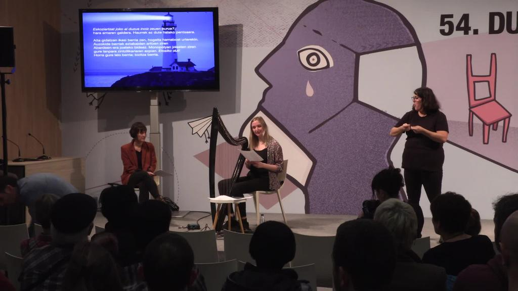 Throwing Voices: Uxue Alberdi eta Rachel Newton