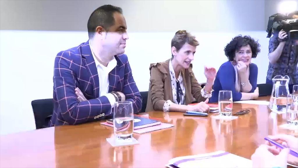 Nafarroako Gobernuaren lehendabiziko 100 egunak aztertu dituzte Joxerra Senar eta Ibai Fernandezek