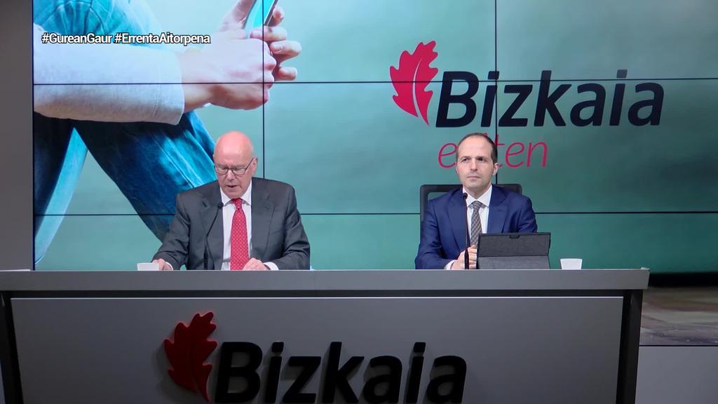 Bizkaiko ogasunak zergadun guztiei egingo die aitorpena 2021ean