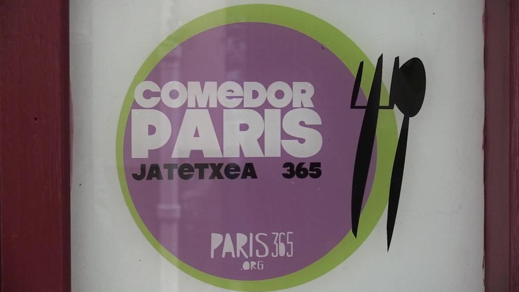 Herritarrei babesa eskatu diete Paris 365 jantoki sozialaren itxiera saihesteko