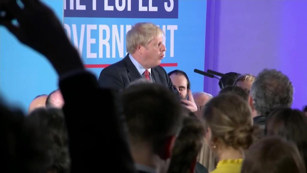 Brexita nahieran gauzatu ahal izango du Boris Johnsonek