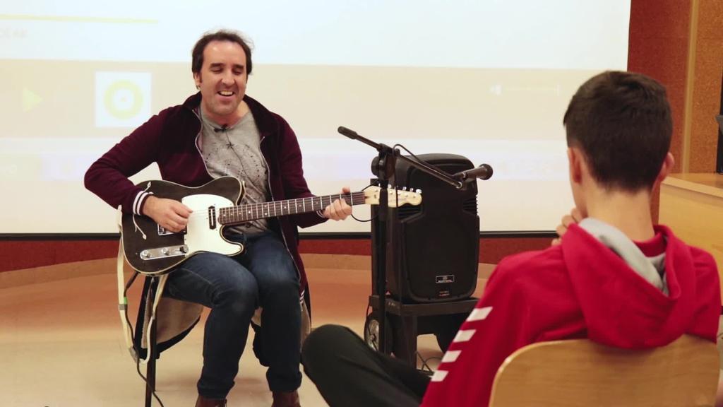 Musikariak ikastetxeetan: Joseba Irazoki