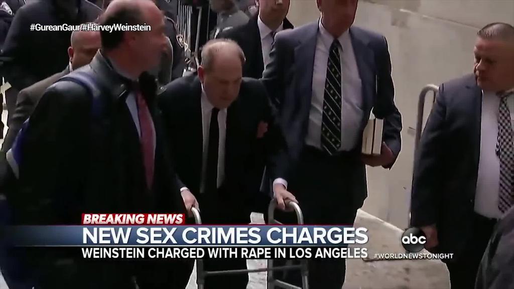 Los Angeleseko fiskaltzak ere karguak aurkeztu ditu Harvey Weinstein produktorearen aurka