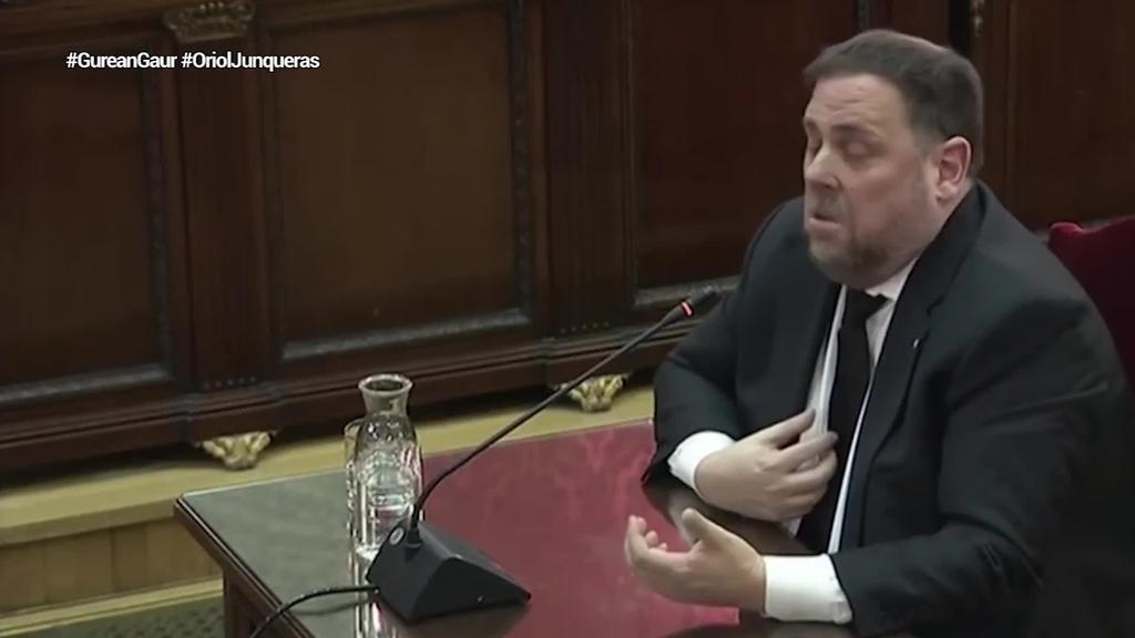 Junquerasek Espainiari eskatu dio bere inhabilitazioa