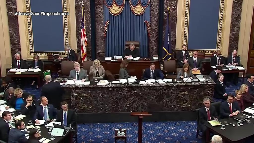 Senatuak Trumpen epaiketa politikorako arauak onartu ditu