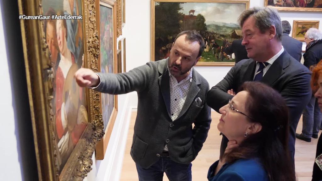 Arte Ederren Museoak artelanen bildumaren kontserbatze lanak burutu ditu
