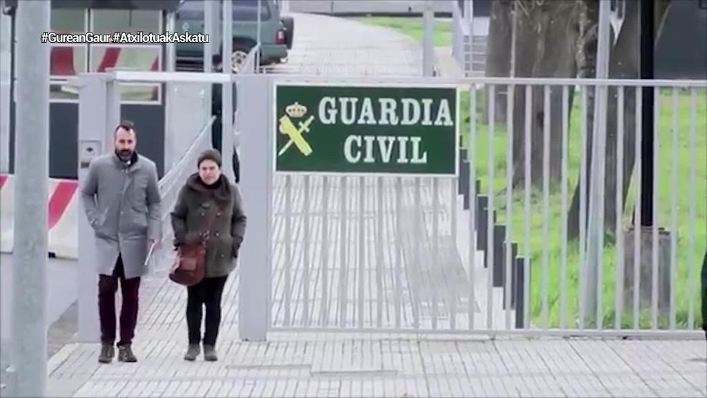 Antton Lopez, Oihana Garmendia, Haimar Altuna eta Oihana San Vicente atxilotu ditu Guardia Zibilak
