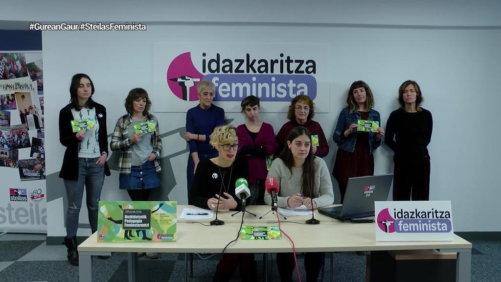 Pedagogia feministaren inguruko jardunaldiak antolatu ditu Steilasek martxoaren 12rako Gasteizen
