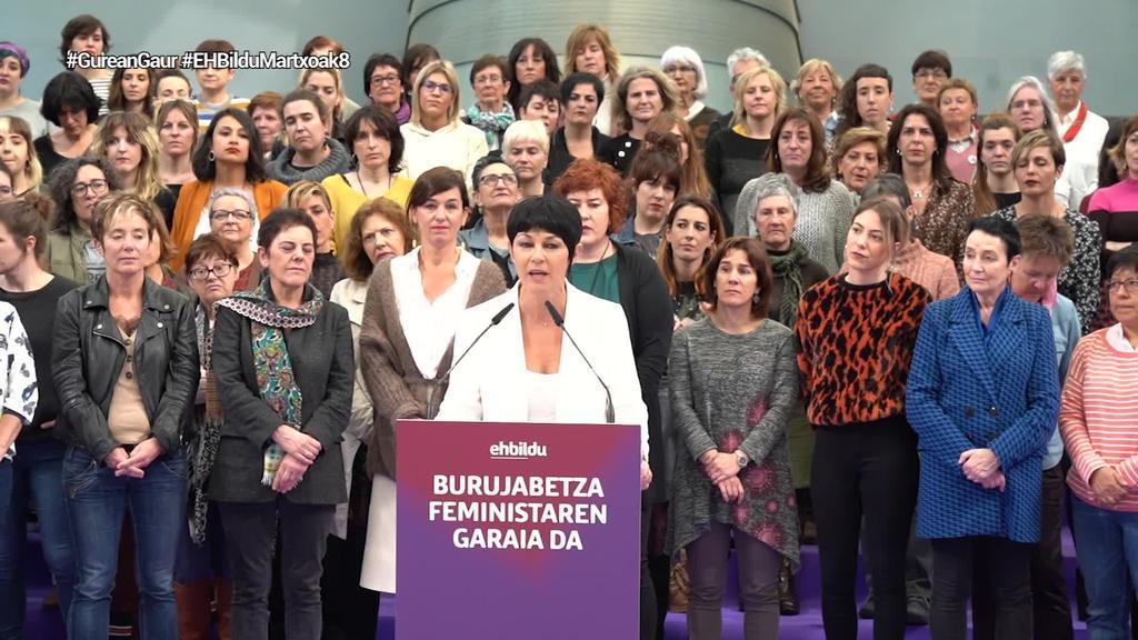 """Maddalen Iriarte (EH Bildu): """"Zaintza bere gain hartuko duen Estatua behar dugu"""""""