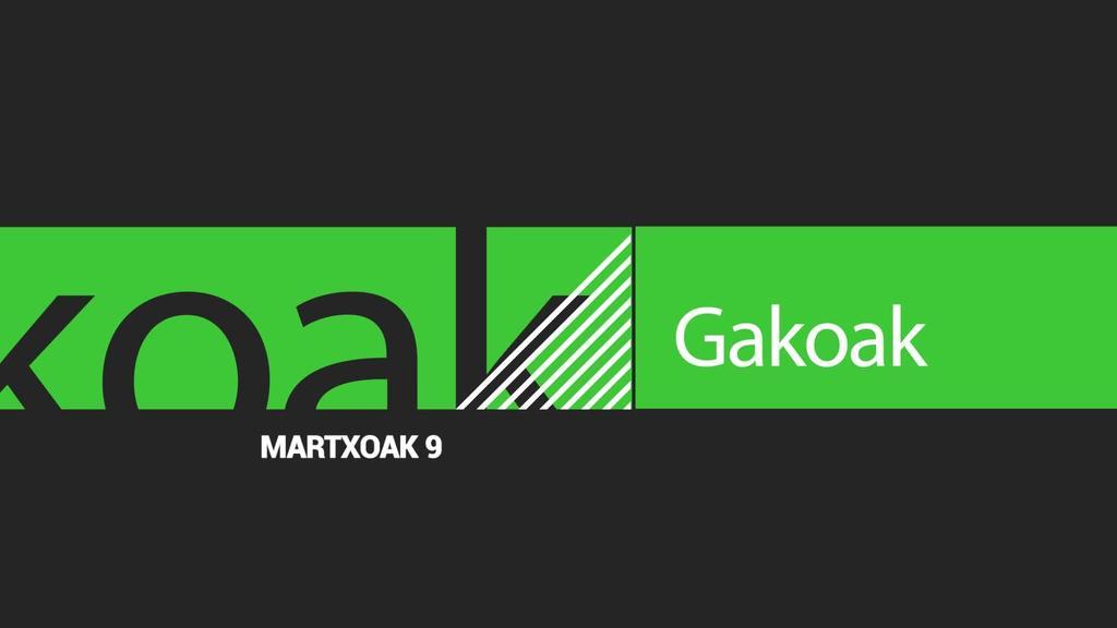 GAKOAK | 2020-03-09