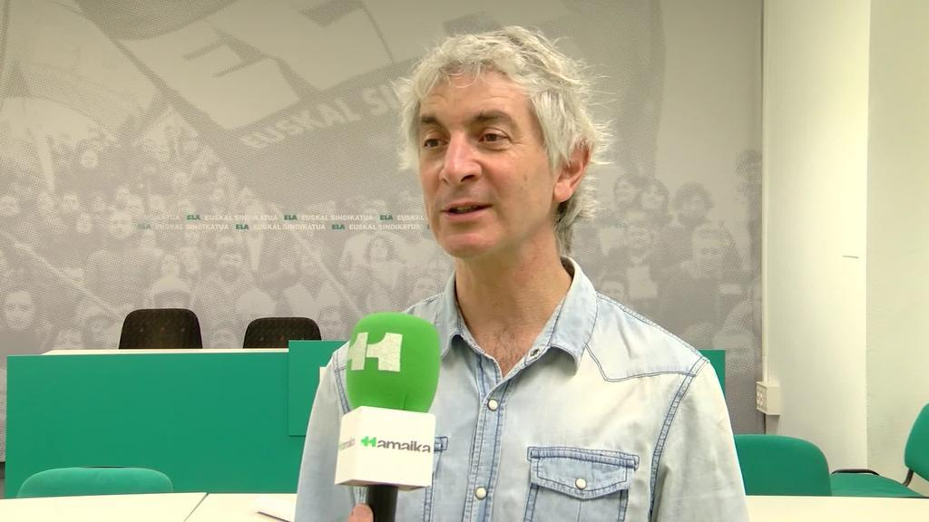 Mikel Noval (ELA): Atzoko bileran Eusko Jaurlaritzak ez zuen inolako neurririk planteatu