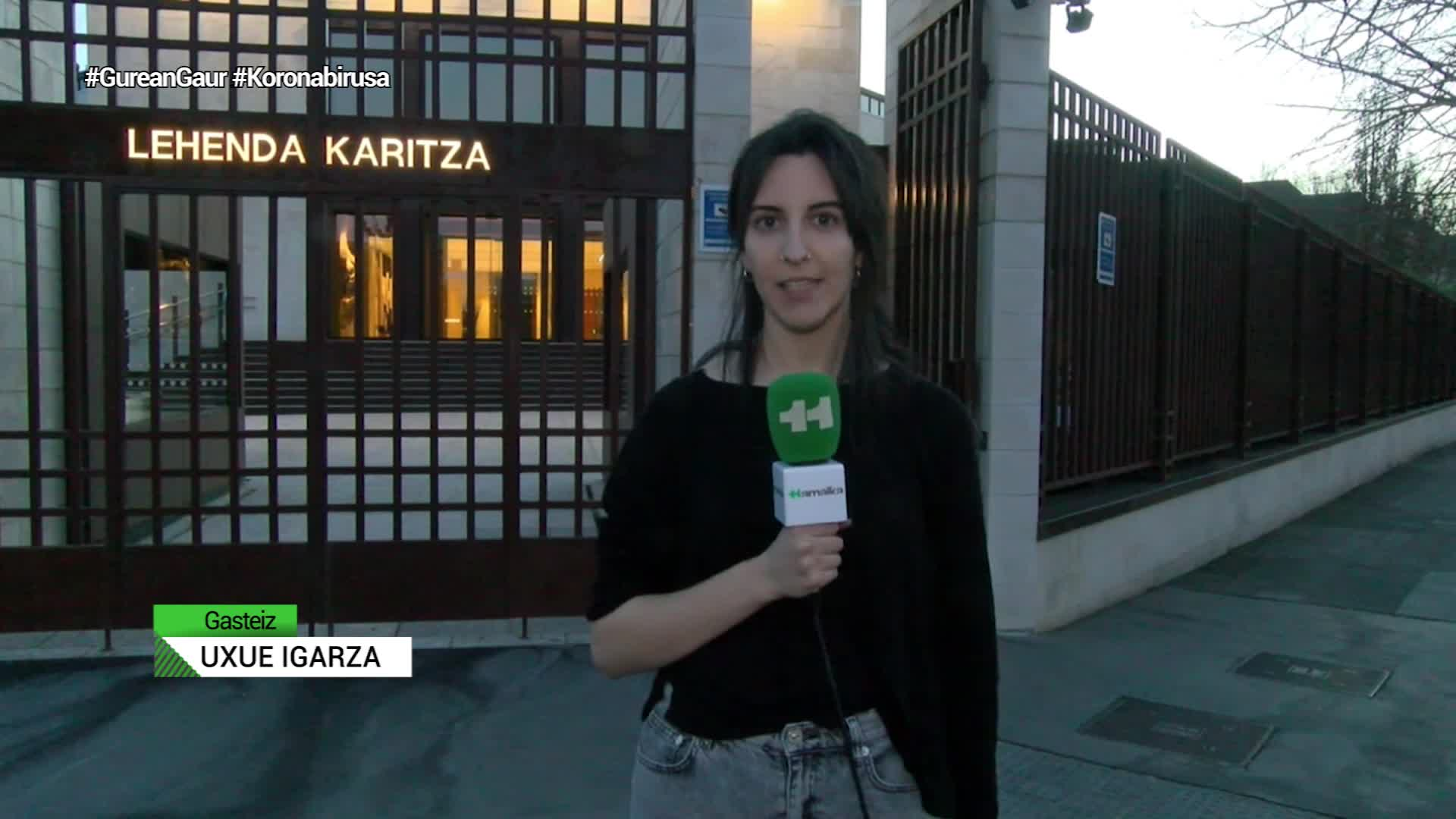 Arabako hezkuntza zentro guztiak ixtea erabaki du Eusko Jurlaritzak