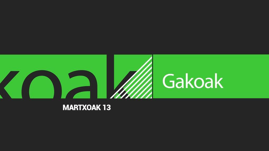 GAKOAK | 2020-03-13