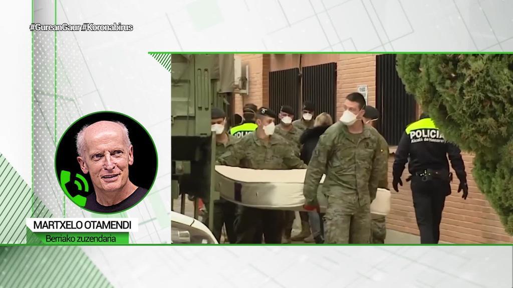 """Martxelo Otamendi (Berria): """"Jaurlaritzan egongo banintz mingarria suertatuko litzaidake armada desinfektatzera etortzea"""""""