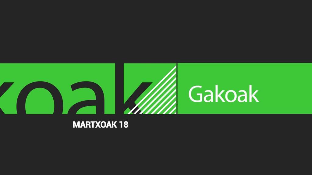 GAKOAK | 2020-03-18