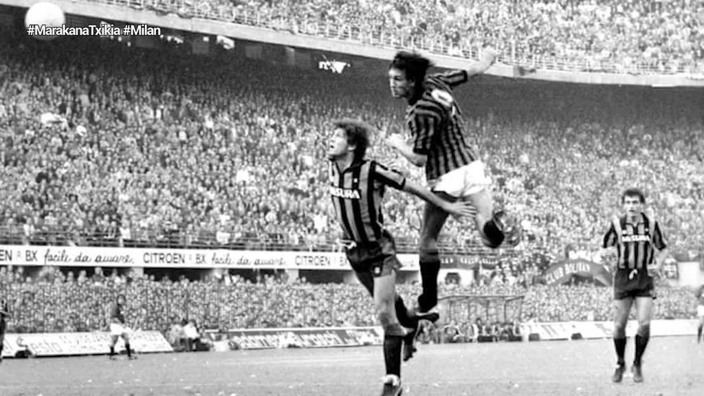 AC Milan taldearen garairik onena gogoan