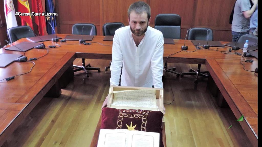 Zentsura mozioak aurrera egin ostean, Koldo Leoz Lizarrako alkate izendatu dute  berriz