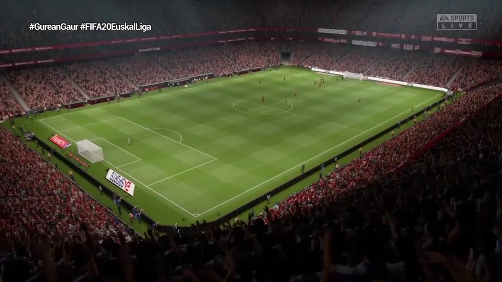 Apirilaren 1ean abiatuko da FIFA 20 Euskal Liga