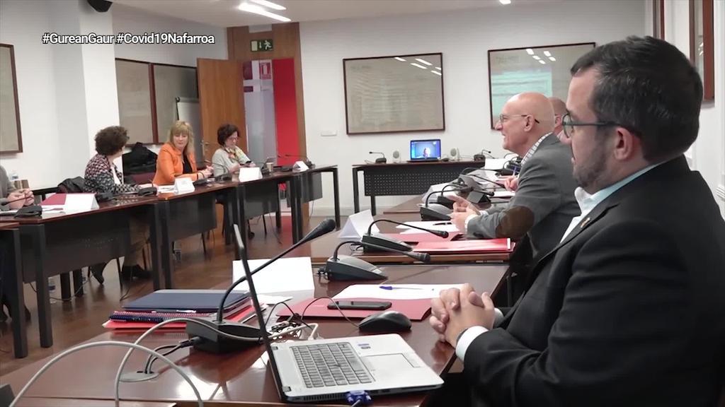 Nafarroako Gobernuak hiru foru lege proiektu aurkeztuko ditu parlamentuan