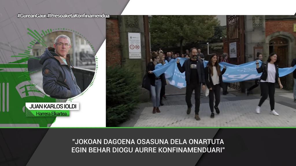 """Juan Karlos Yoldi (Harrera): """"Isolamenduaz hainbeste hitz egin ostean, orain, bere txikitasunean, konturatuko gara zer den isolatuta egotea"""""""