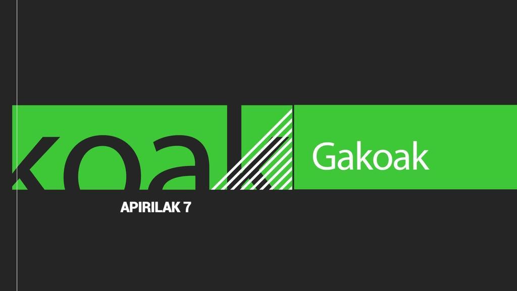 GAKOAK | 2020-04-07