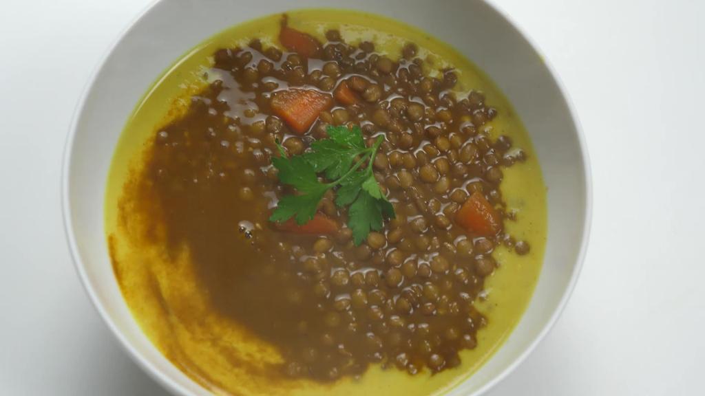 Errezeta beganoa I Dilistak curry kremarekin