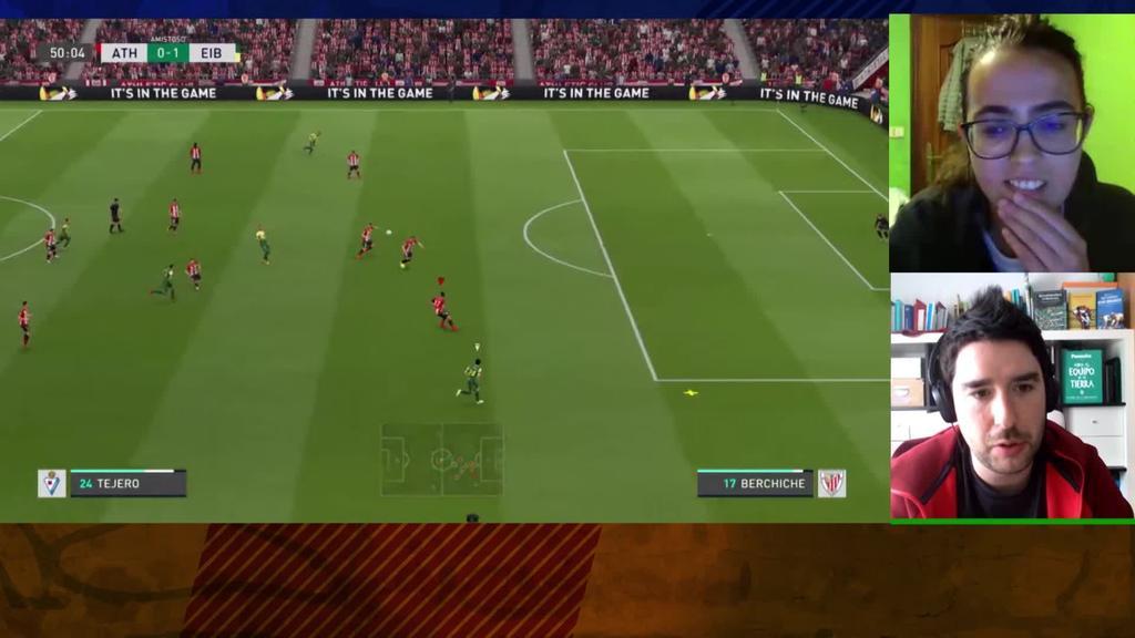 FIFA20 Euskal Ligaren finala eta Bertso Derbia