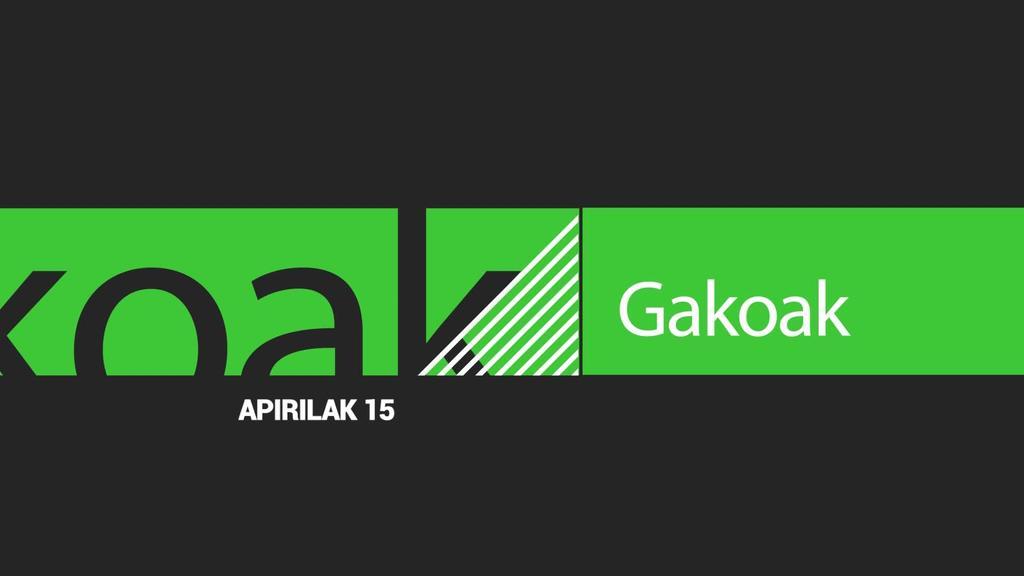 GAKOAK | 2020-04-15