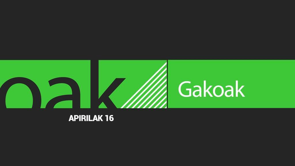 GAKOAK | 2020-04-16