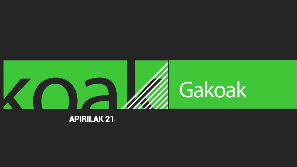 GAKOAK | 2020-04-21