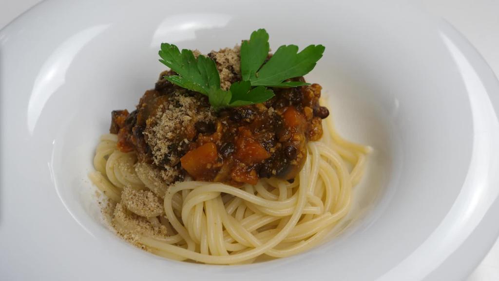 Errezeta beganoa I Pasta bolognesa beganoa
