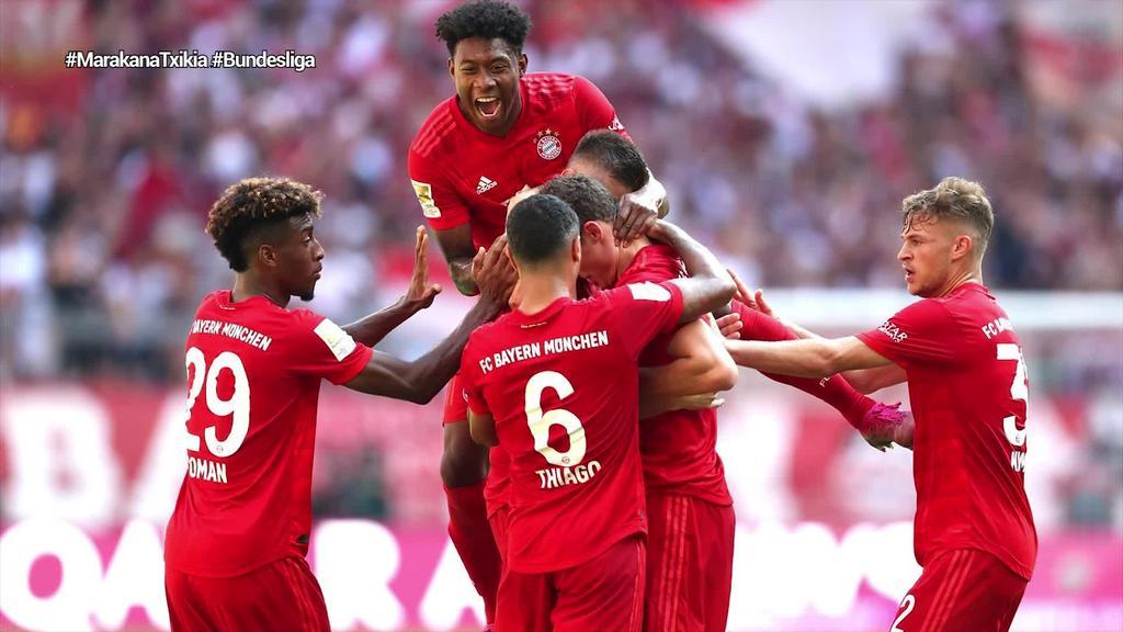 Bundesliga, itzultzeko prest dagoen lehen Liga handia