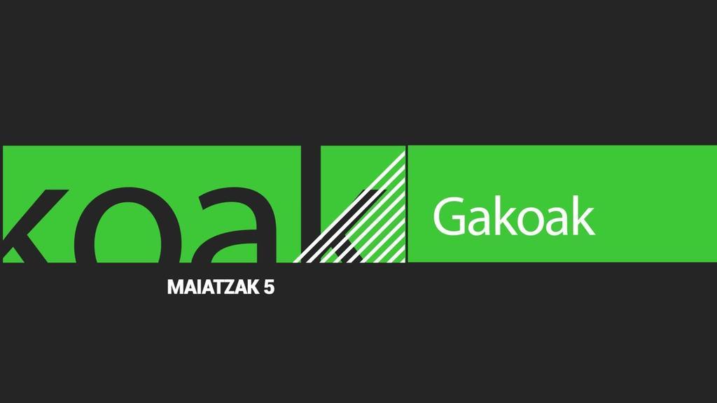 GAKOAK | 2020-05-05