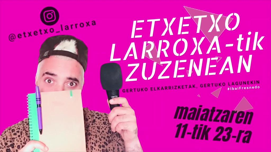 Etxetxo Larroxatik agurra