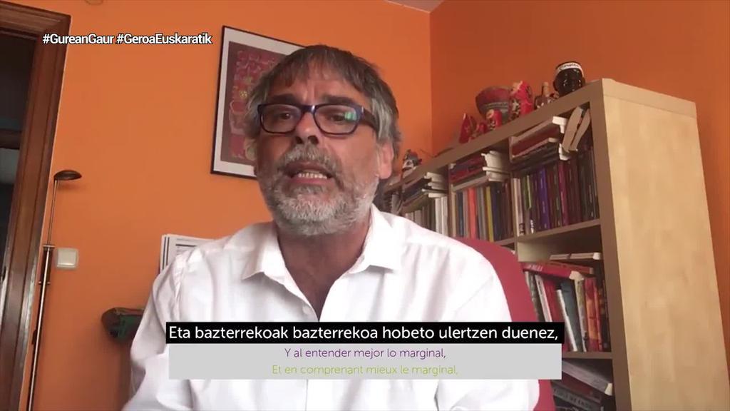 Euskara ardatz hartuko duen etorkizun berdinzalearen alde martxan da 'Geroa euskaratik'