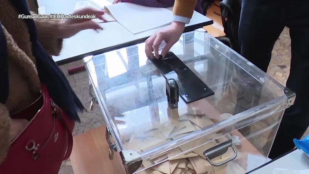 Ekainaren 28an egingo dute Herri mailako hauteskundeen bigarren itzulia Ipar Euskal Herrian