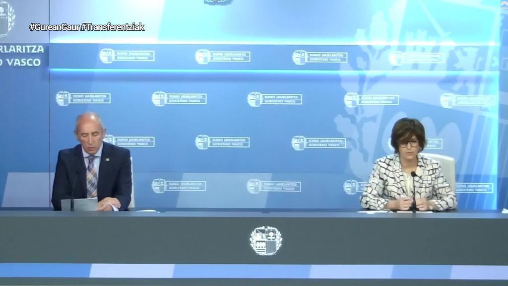 Eusko Jaurlaritzak eta Espainiako Gobernuak Transferentzien Batzorde Mistoa egingo dute ekainean